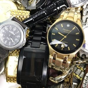 7 Pound Watch Lot Skagen Timex Armitron Fashion +
